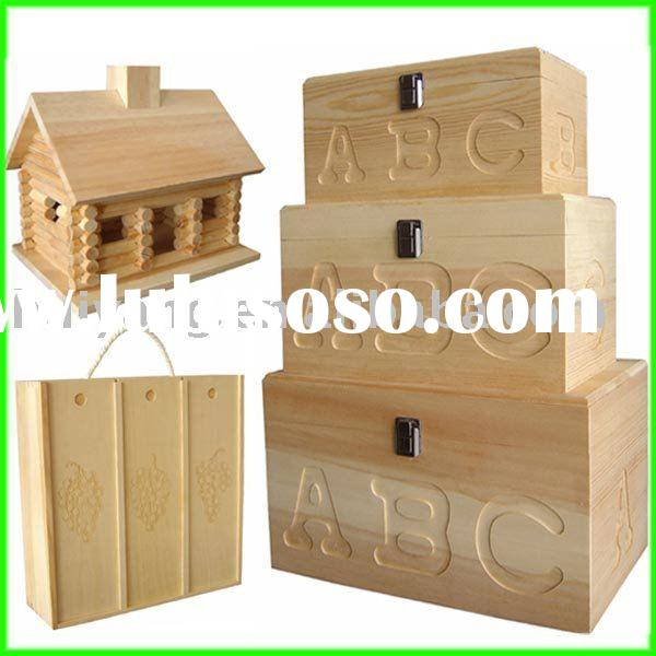 wooden gift box, wine box, key box, tea box, wooden crafts