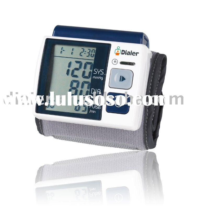 wrist Blood Pressure Meter have CE ,FDA and Rohs certification