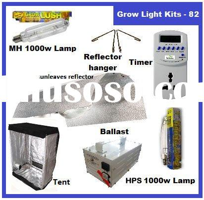 1000 WATT HPS+MH ballast HYDROPONICS Sun leaves Shade Grow Room System/Tent Lamps Timer Reflector ha