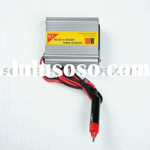 100W dc to ac car power inverter with usb port