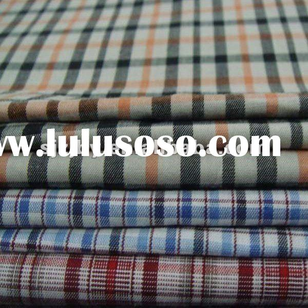 100%Cotton Check Woven Yarn Dyed Fabric