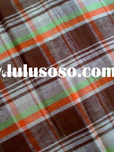 100% Cotton yarn dyed gingham Flannel