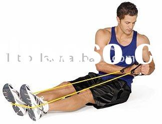 100% Latex tube Resistance Bands/Exercise Bands
