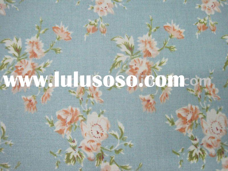 100% cotton fabric/printed cotton fabric/Table cloth/teflon coated fabric