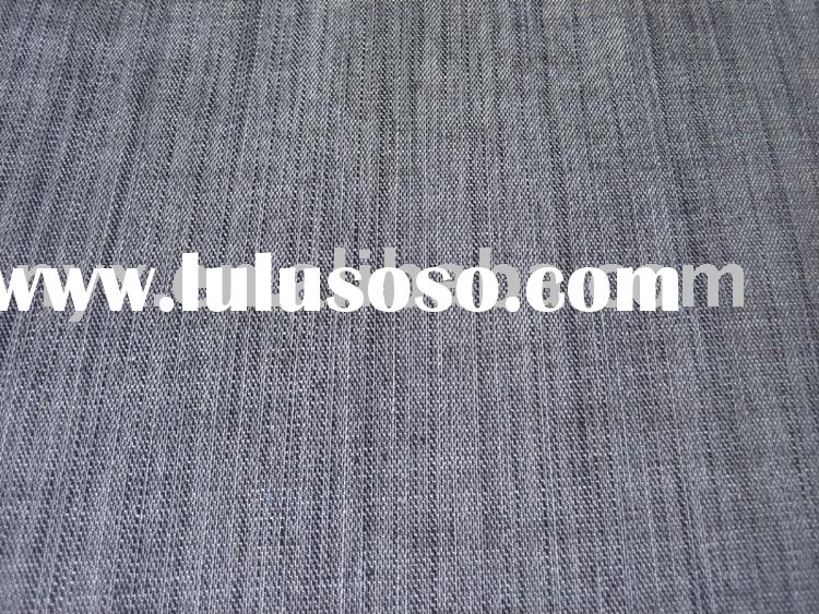 100%cotton yarn-dyed slub jeans fabric