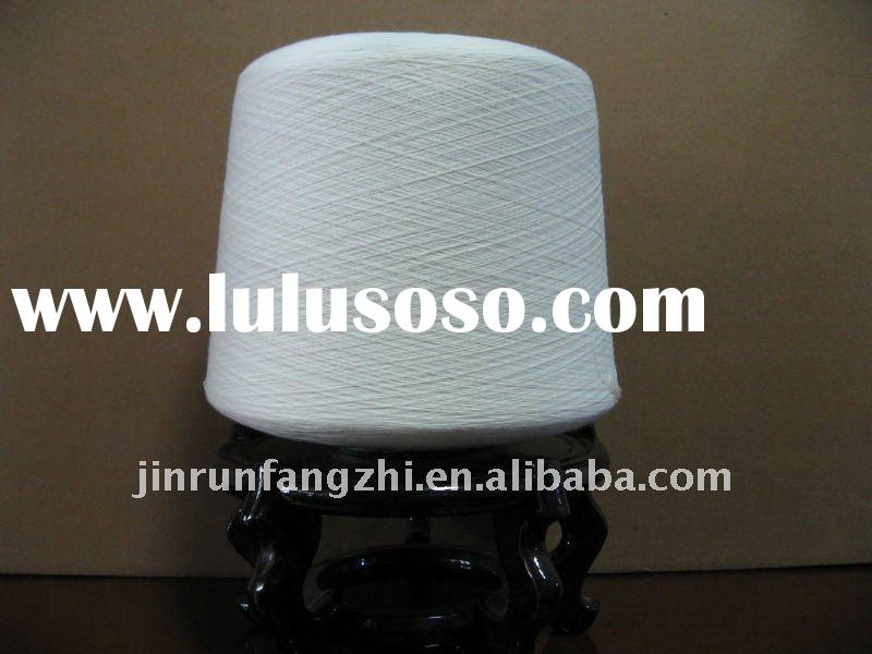 100% polyester ring spun yarn 30s recycled for weaving and knitting