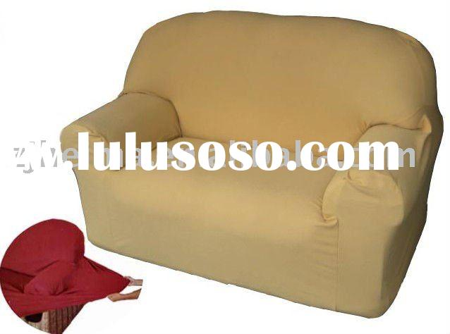 100%polyester sofa cover with stretch