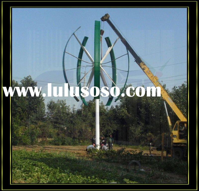 10kw Vertical axis wind turbine,High generating efficiency,3 Years Free Maintenance