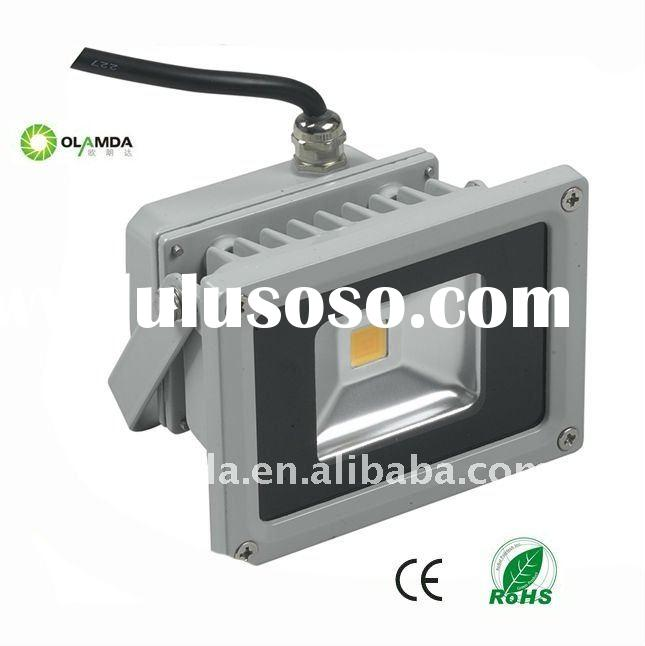 10w color changing outdoor led flood light