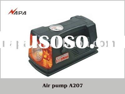 12V DC 250PSI Mini air compressor with working light, Portable air compressor