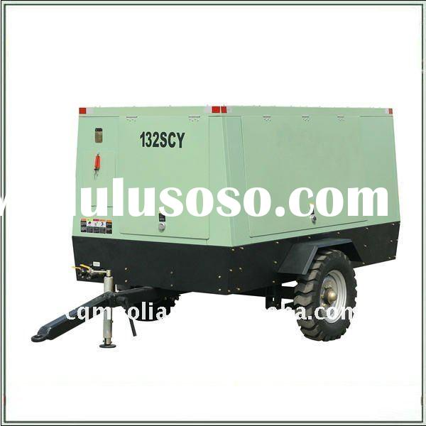 132SCY 14.5 Portable Screw Cummins Diesel Engine Drive Air Compressor
