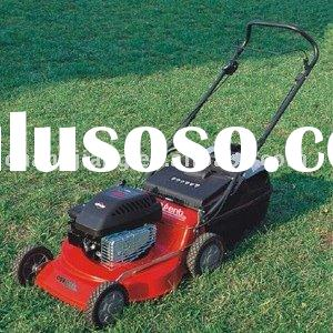 "19"" hand push gasoline lawn mower grass cutter and garden tools (CJ19TZHB40)"