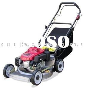 "19"" hand push gasoline lawn mower with aluminium deck grass cutter and garden tools (CJ19TZSD55"