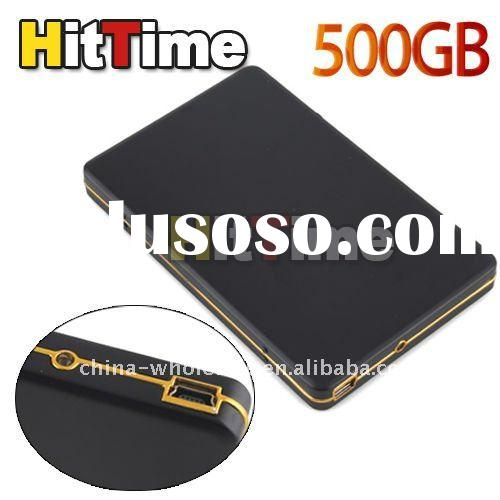 "1Pcs 500GB 2.5"" SATA HDD USB External Portable Pocket Hard Drive for laptop Free AIR Mail ONLY"