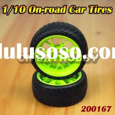 1:10 On-road Car Tires for Remote Control Car & Truck, R/C Model Toys