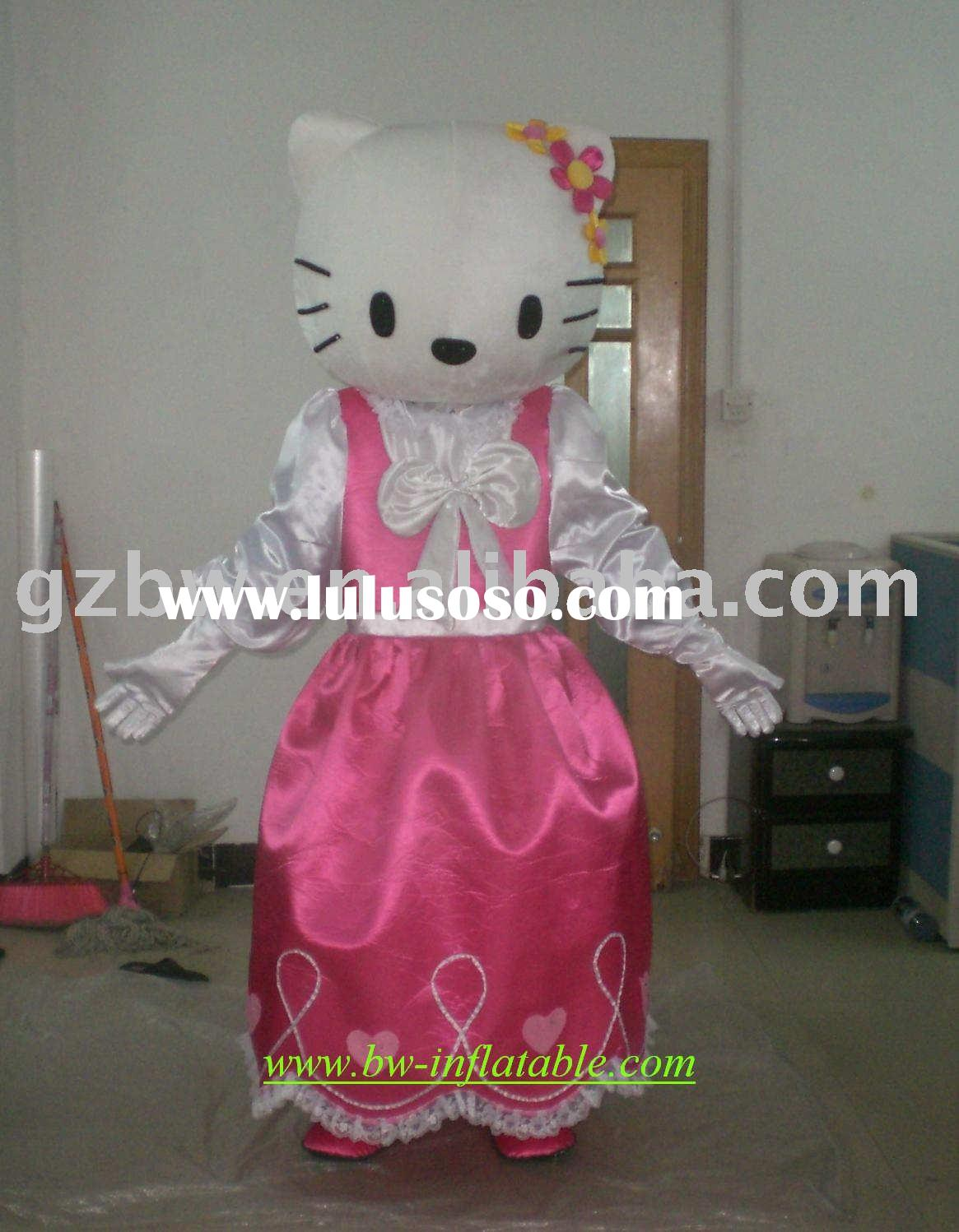 2010 BW hello kitty mascot costume