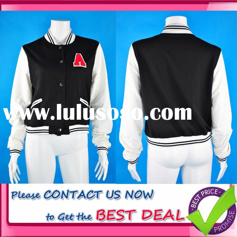 2011 Factory Direct Low Price Cotton Baseball Jacket (Please Inquire for Best Prices)