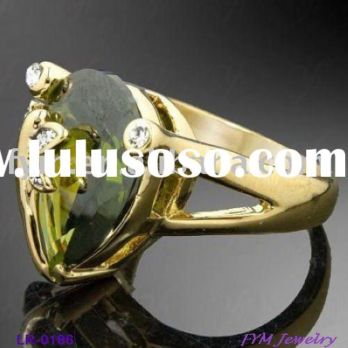 2011 Fashion Gold Wedding Rings Jewellery