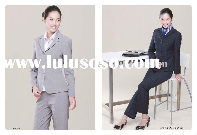2011 Ladies business office uniform wear women formal suit