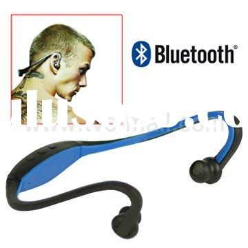 2011 New Neckband Stereo Wireless Bluetooth Headset Headphone for Mobile Phone