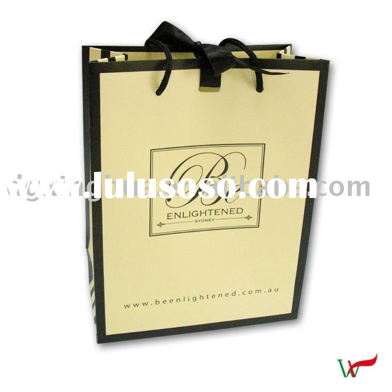 2011 Promotional Shopping Gift Paper Bag