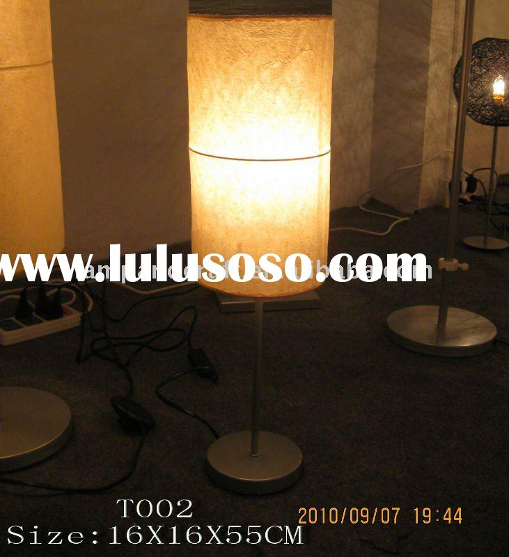 2011 Rice Handmade Paper Lamp Shade Table Lamp Best Selling In Euro Lowest Price