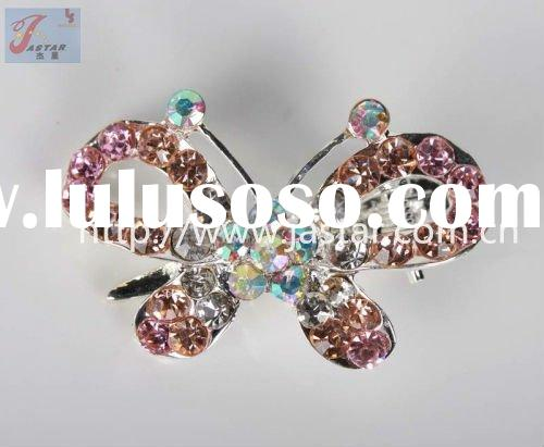2011 Style fashion claw metal butterfly hair clips