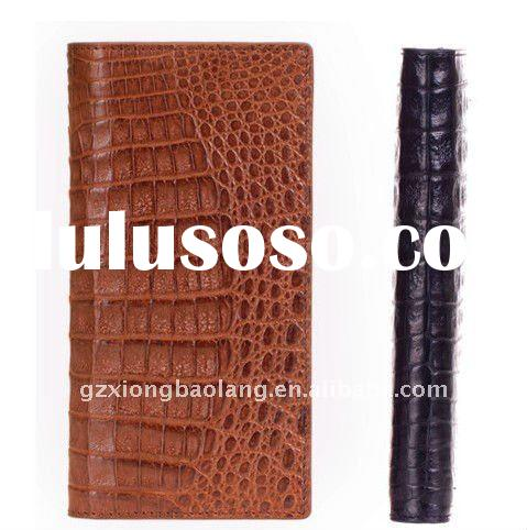 2011 Top Fashion Men's GENUINE CROCODILE LEATHER WALLET
