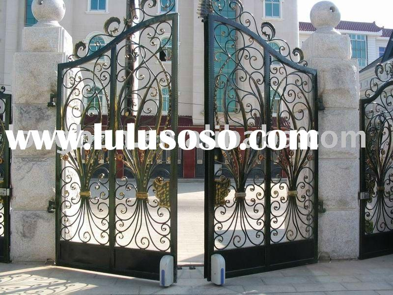 2011 Top-selling house iron gate design for home,park,garden