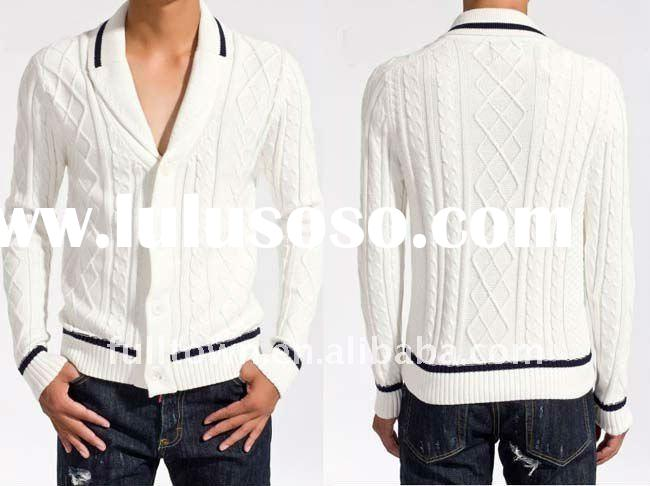 2011 new autumn fashion cardigan sweater for men, M-XL