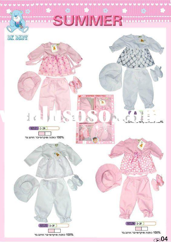 2011 newest fashion new born baby clothes gift set for hot sale
