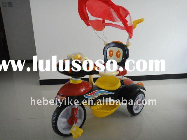2011 toy push kid tricycle, tricycle toy with push handle, baby tricycle toy