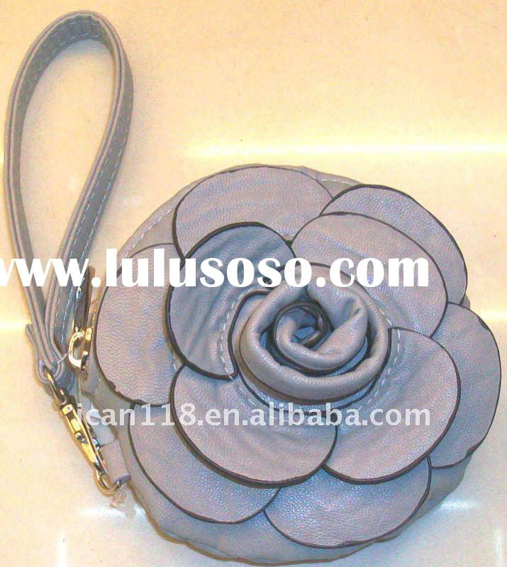 leather flower purse, leather flower purse Manufacturers in