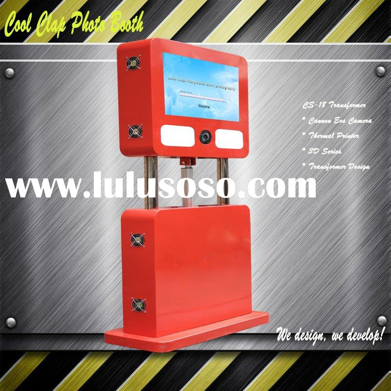 2012 New Portable 3D Photo Booth For Wedding Party Events Rental Promotion Advertising Photography B