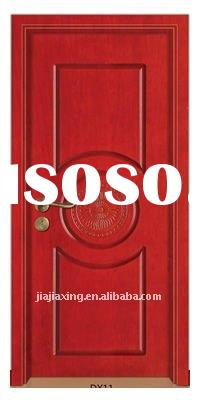 2012 New style good quality exterior solid wood door