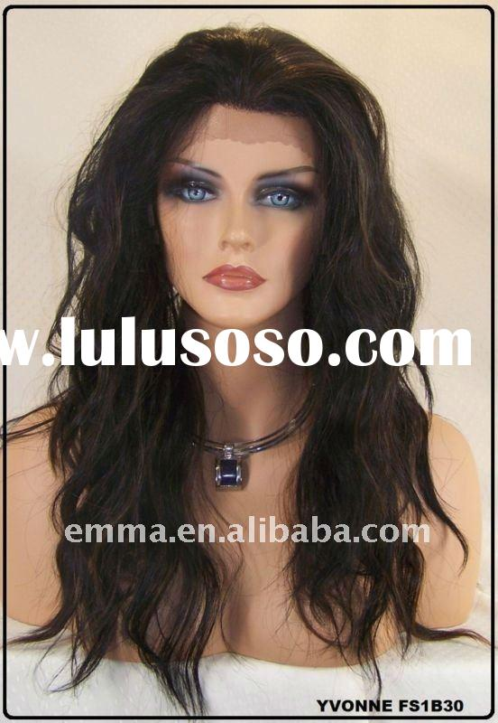 2012 TOP new fashion good quality human hair full lace wigs