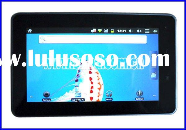 2012 latest tablet pc 7 inch capacitive 5 points touch screen tablet palmtop