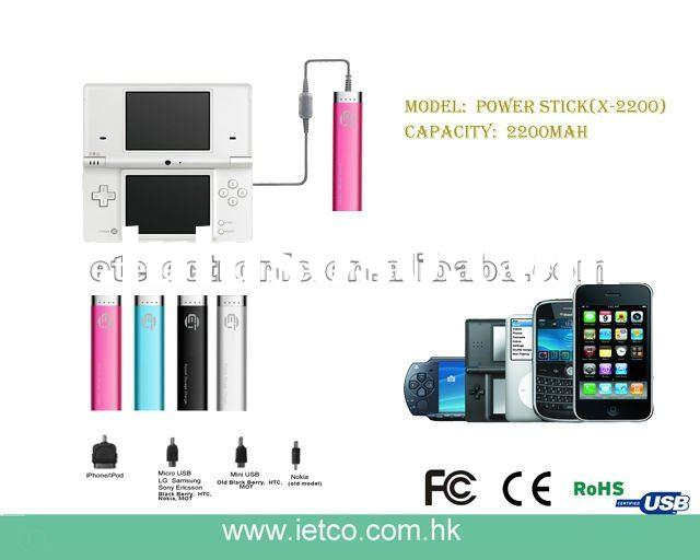 2012 new mini universal portable power bank for New year gift ,Ihpone ,Ipad,black berry ,Nokia,Sony