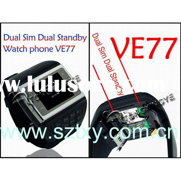 2012 popular phones,Dual Sim card Watch phone