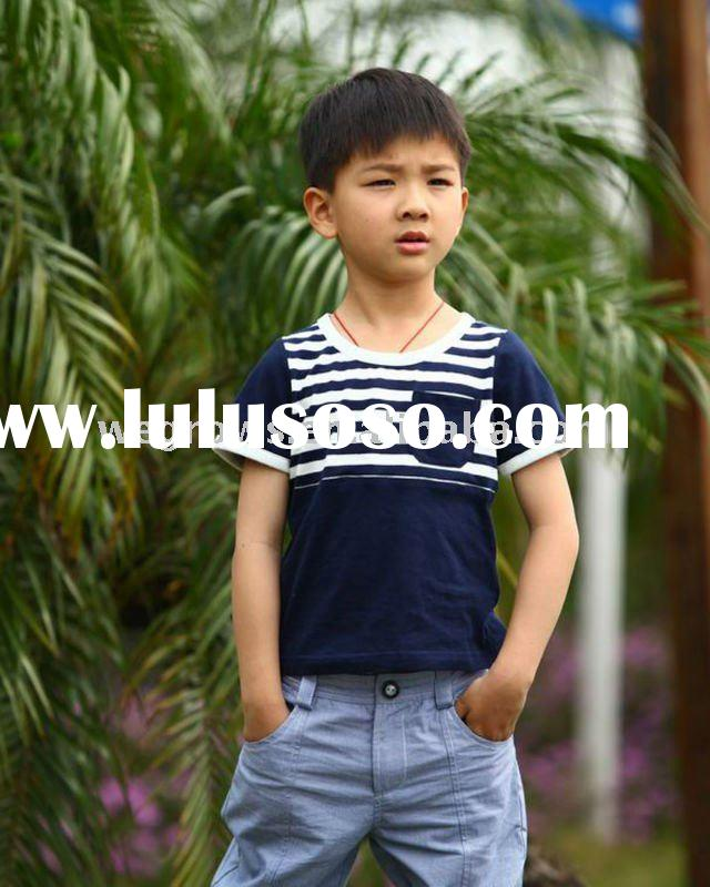 2012 timeless design 100% cotton boys summer T-shirts,European material,child clothing