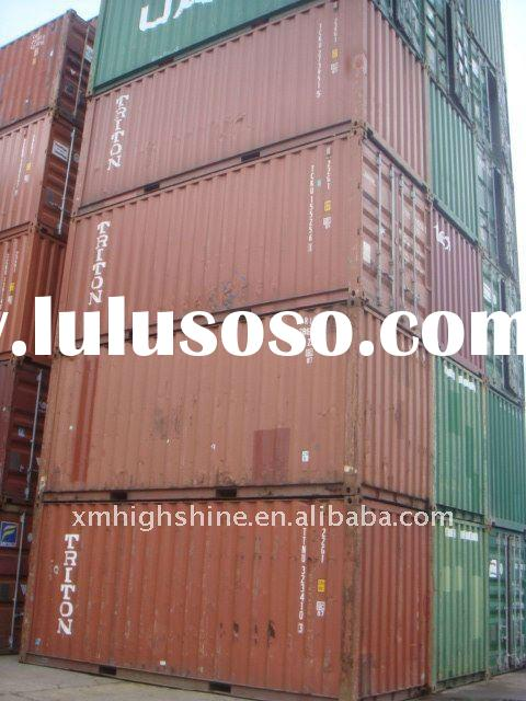 20 foot used cargo container for sale