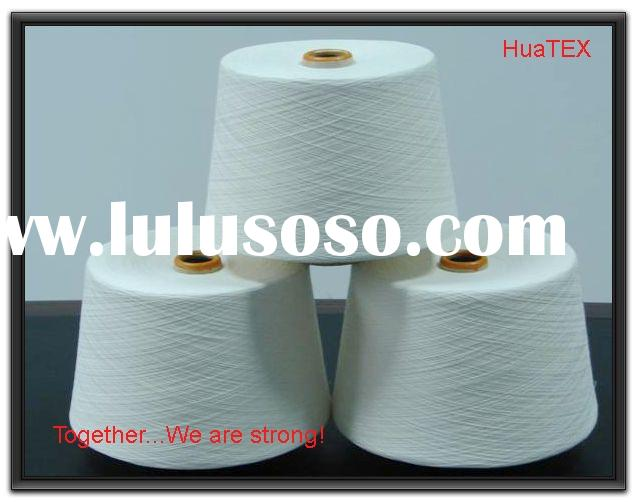24s P/V 50/50 ring spun polyester viscose yarn for weaving or knitting