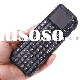 2.4G Wireless Rii Mini PC Keyboard with Touchpad