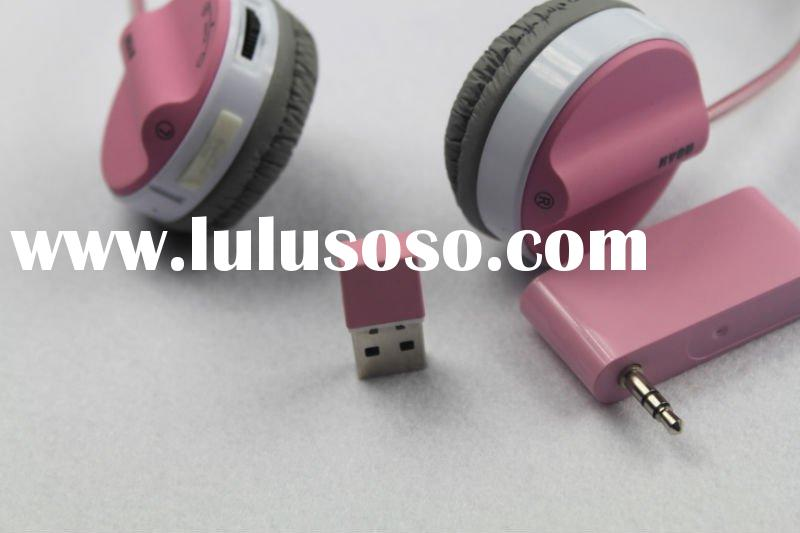 2.4G wireless headphone/usb 2.4Ghz wireless headphone