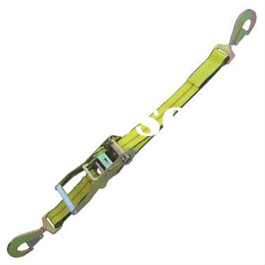"2"" Ratchet Strap w/ twisted snap hook and ratchet buckle"