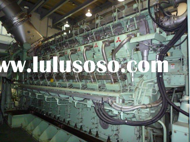2 Used GE Frame 9E Gas Turbine Dual Fuel Power Plants