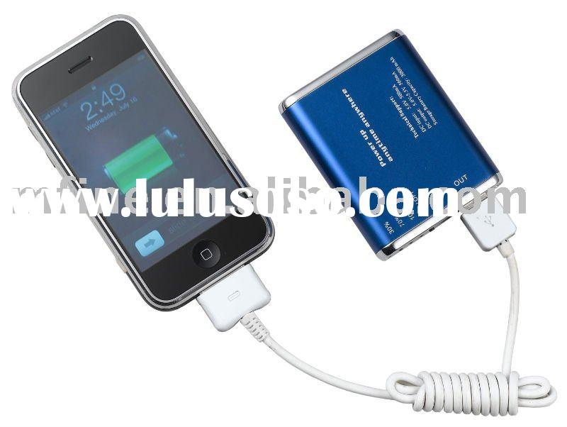 3000mAh Portable USB External Battery Backup Charger for Apple iPhone 4