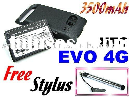 3500mAh Replacement Extended battery for Sprint HTC EVO 4G