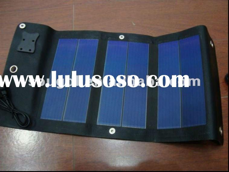 3W flexible solar panel,solar charger for Iphone,Ipad with high quality