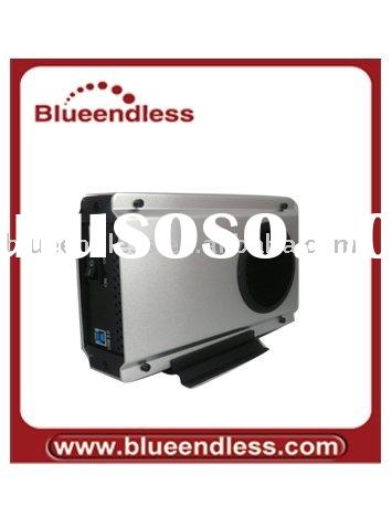 3.5'' USB 3.0 hdd enclosure with cooler fan